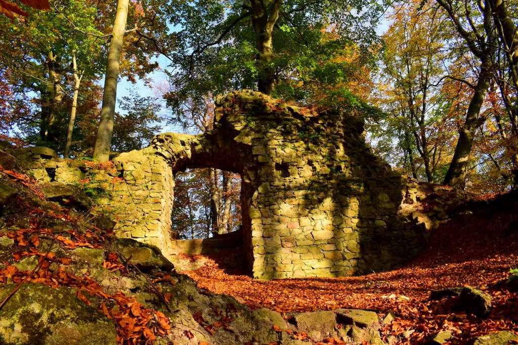 Rožnovský hrad - brána