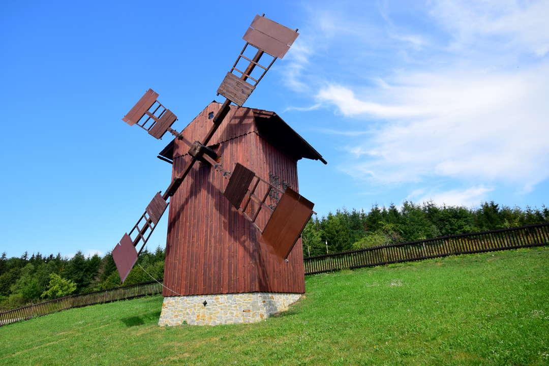 Větrný mlýn na Medůvce