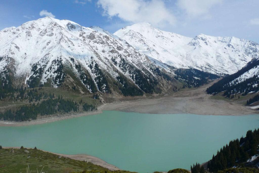 Velké Almatinské jezero, Almaty, Kazachstán
