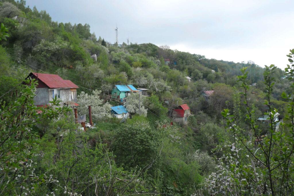 Dača, chata, Kazachstán