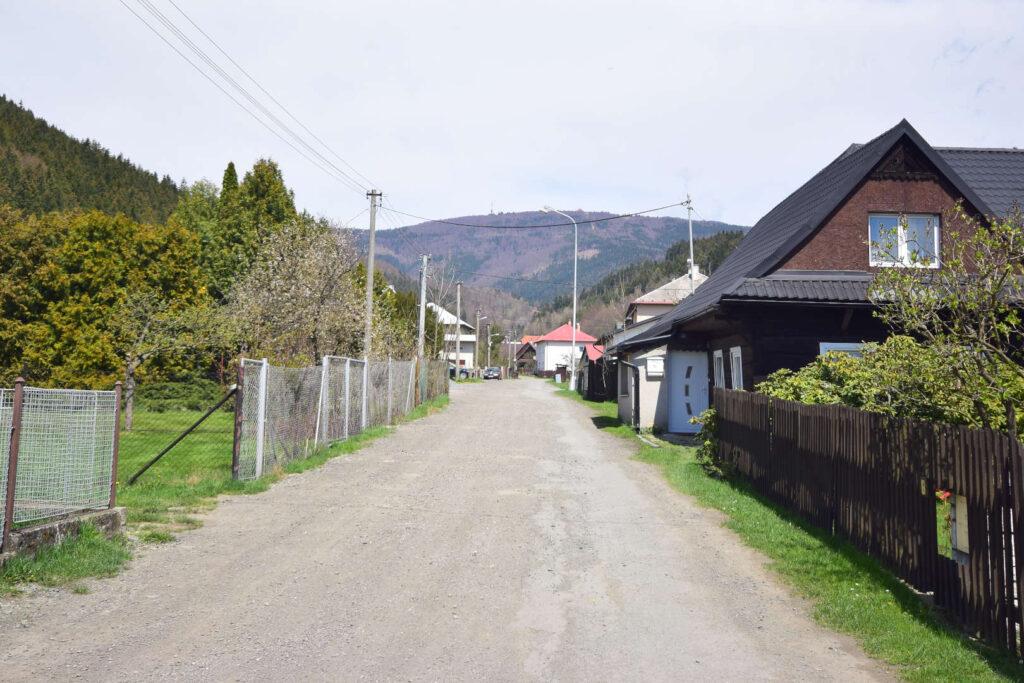 Výhled na Radhošť z Dolní Bečvy
