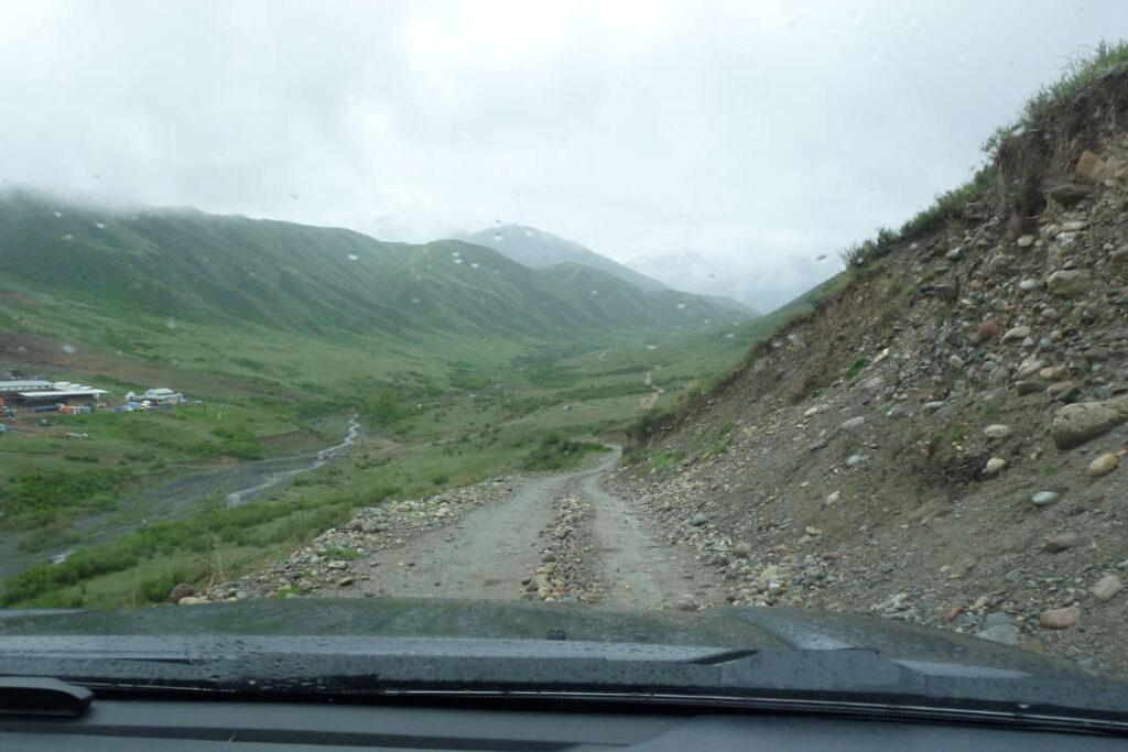 Silnice, Kazachstán