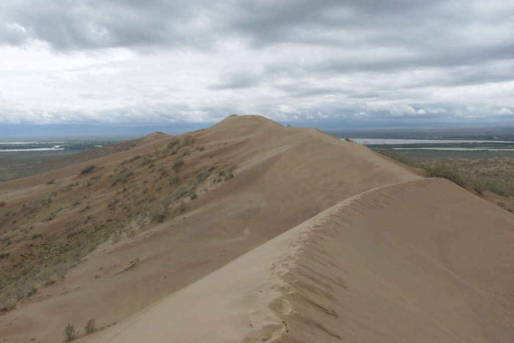 Národní park Altyn-Emel, Zpívající duna, Kazachstánk