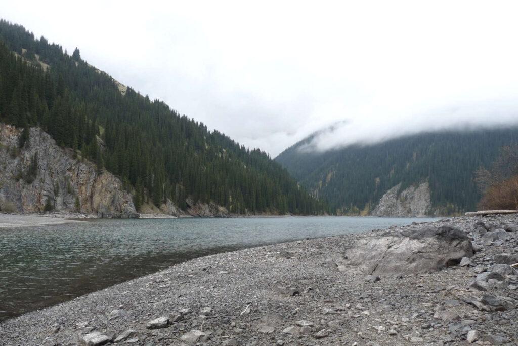Jezero Kolsai, Kazachstán