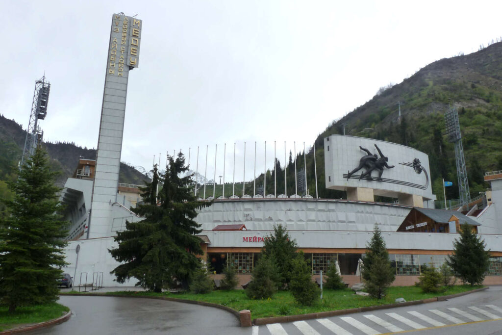 Stadion Medeo, Almaty, Kazachstán