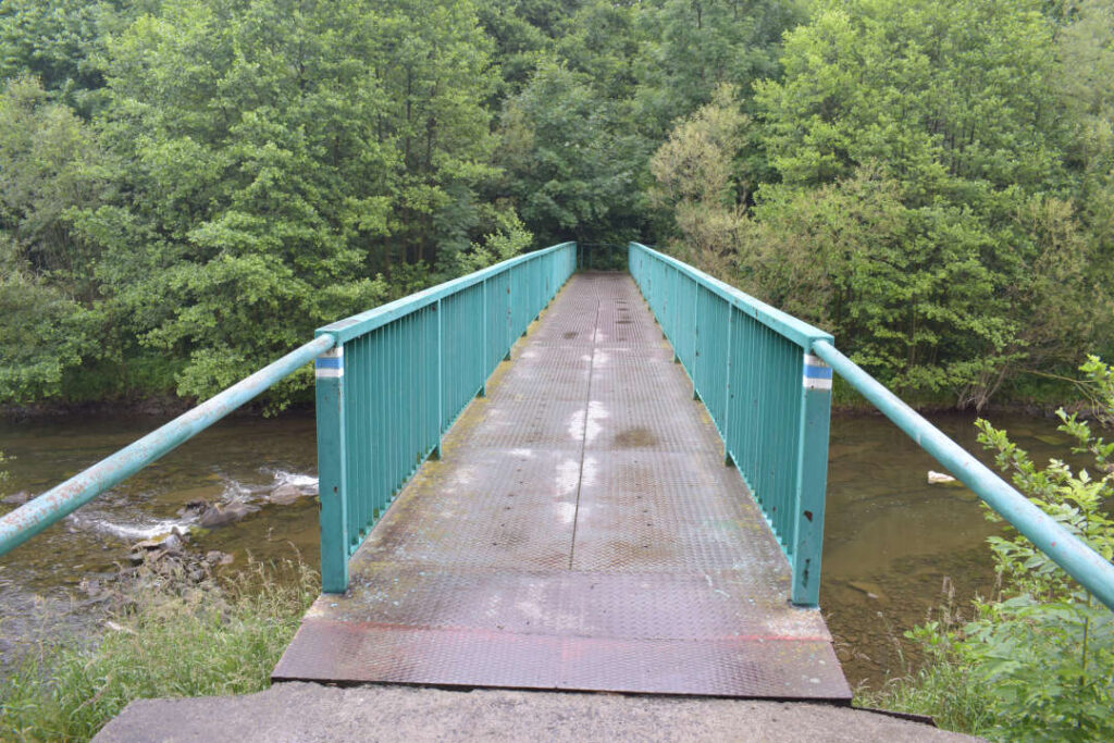 Most přes Morávku, Pražmo