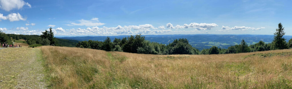 Panorama, Radhošť
