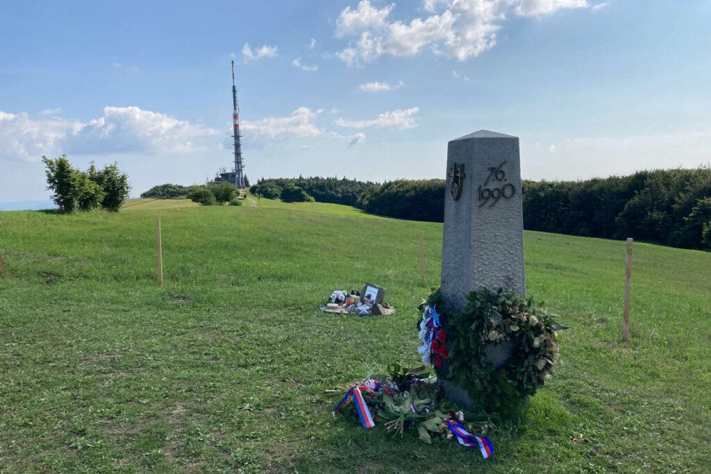 Památník moravsko-česko-slovenské vzájemnosti, Velká Javořina